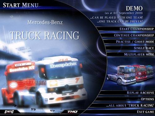 Juegos de Camiones: Mercedes-Benz Truck Racing