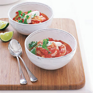 Southwestern Shrimp Soup