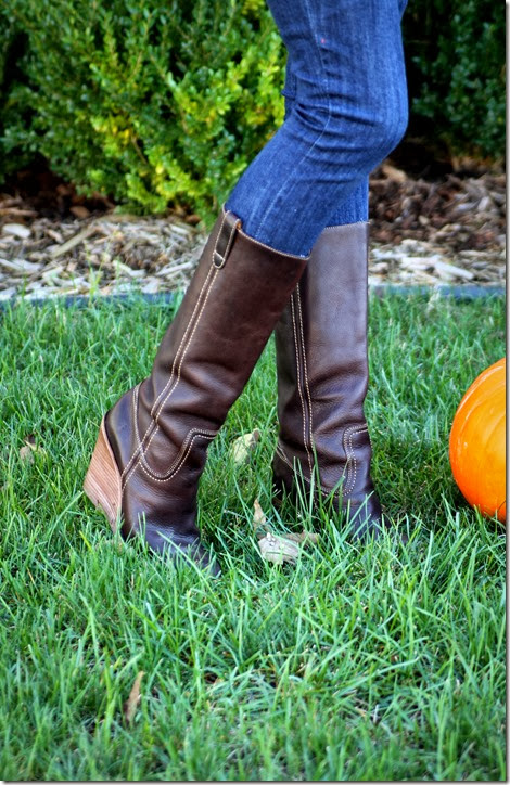 Carolina Campus Wedge Frye Boot