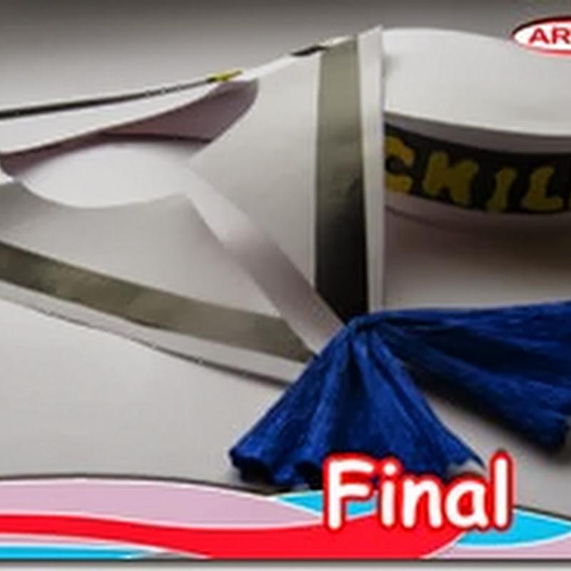 Como hacer un disfraz  de marinero de papel, muy fácil