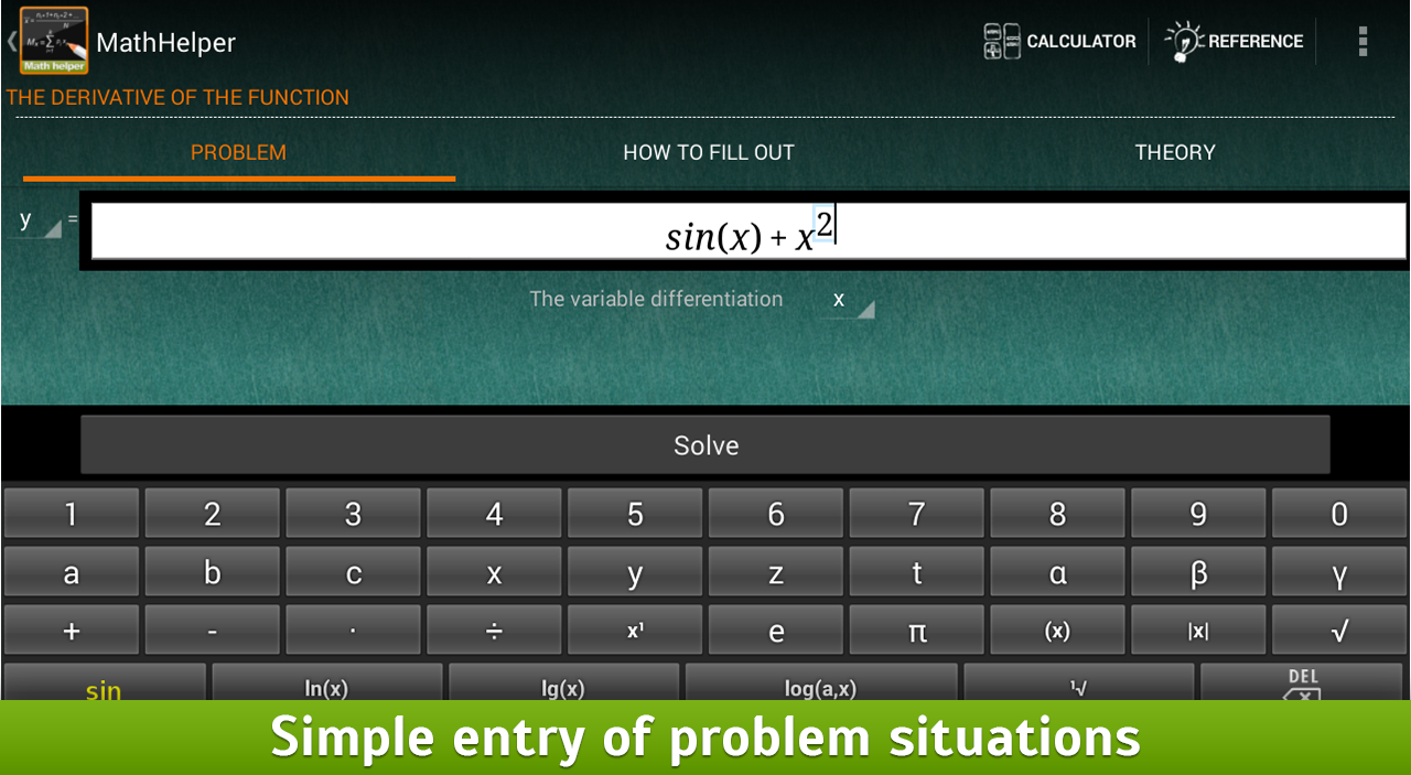 Algebra Calculus Integrals - screenshot