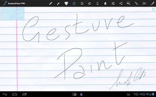 Gesture Paint LITE - screenshot thumbnail