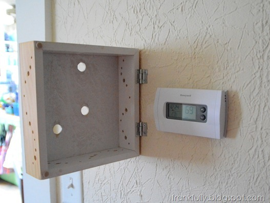Frankfully Diy Pretty Thermostat Cover