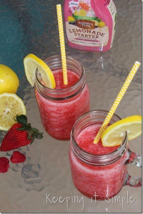 #ad Amazing-Berry-Lemonade-Slush #PourMoreFun (17)