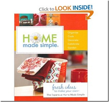 home made simple book