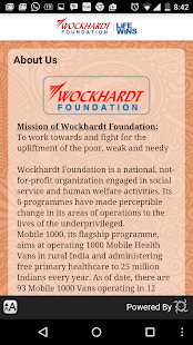 Wockhardt Foundation- screenshot thumbnail