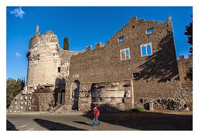 Rom: Geocaching bei den alten Römern: Via Appia Antica - Grab der Cecilia Metella