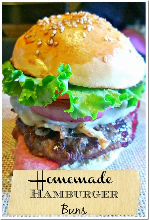 Homemade Hamburger Buns Lou Lou Girls