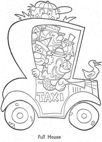 palhaço-colorir-Clowns To Color-coloring page-00019