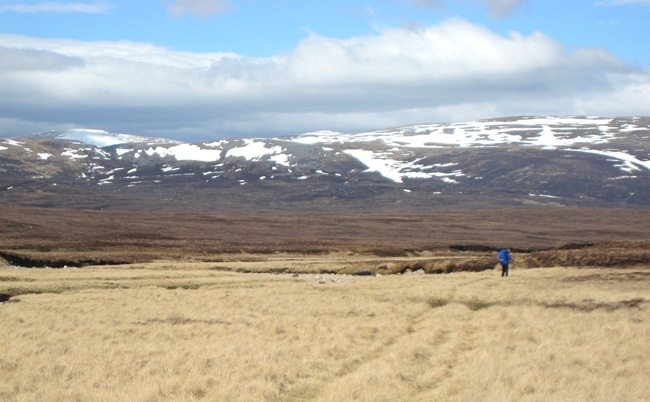 ANDY, UPPER UPPER FESHIE & CAIRNGORMS