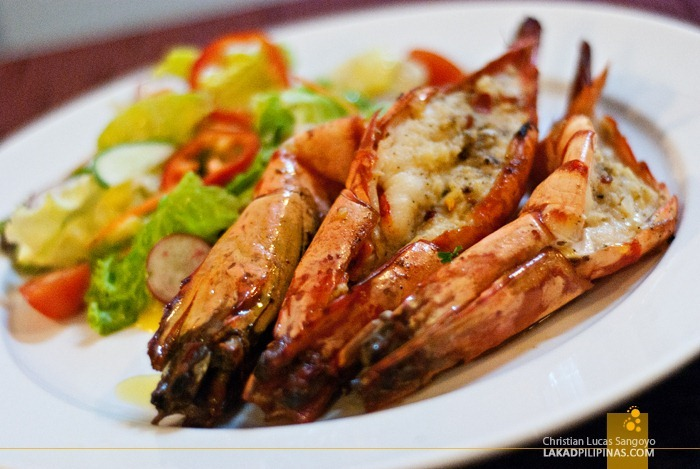 Millie's Grilled Prawns at Microtel MOA
