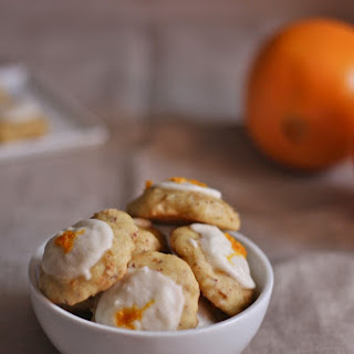 Orange-Almond Drops