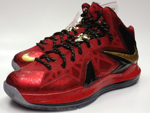 quality design 8d510 e5c01 Nike LeBron X Championship Pack Online Release Info ...