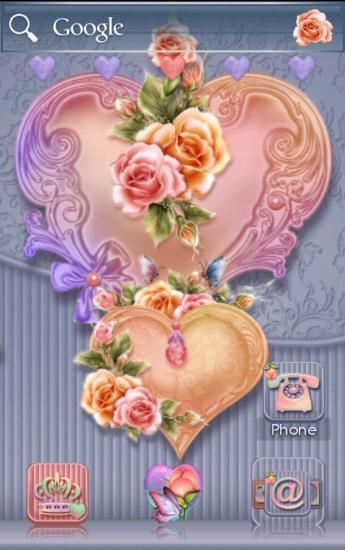 ADW  Valentine Hearts Romance- screenshot