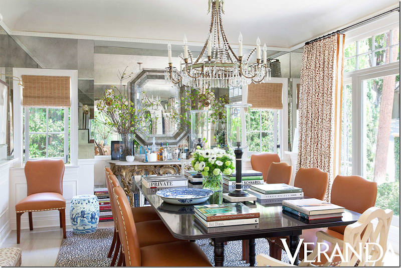 today for veranda the dining room is completely and totally different gone is the gracie wallpaper lets talk about that first when i saw this - Veranda Dining Rooms
