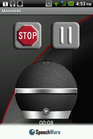 SpeechMatic Recorder - screenshot
