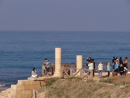 03. Ruine romane pe malul Marii Mediterane.JPG