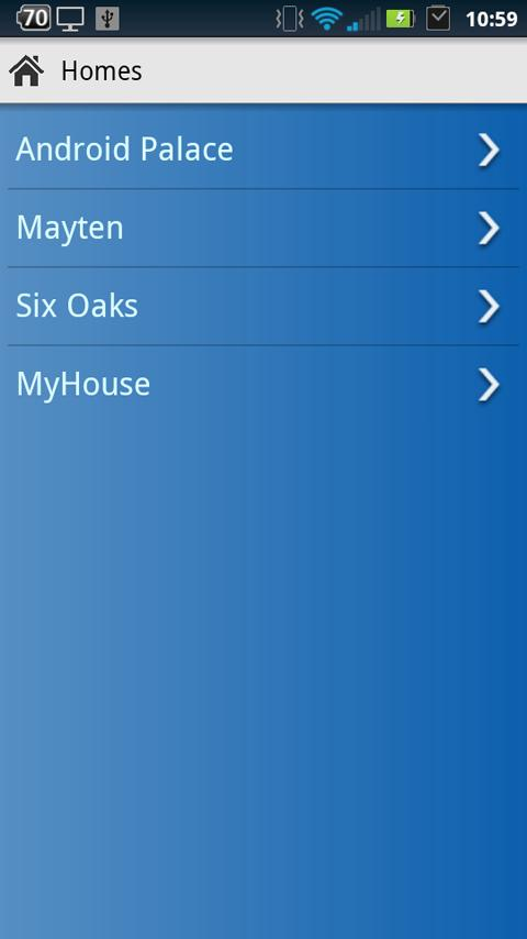 INSTEON for SmartLinc- screenshot