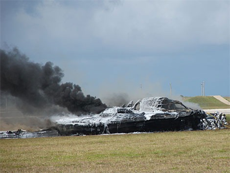 Northrop-B2-Crash
