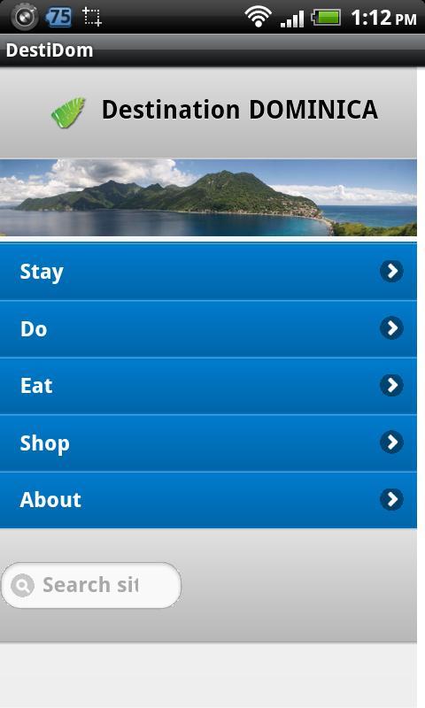 Destination Dominica- screenshot