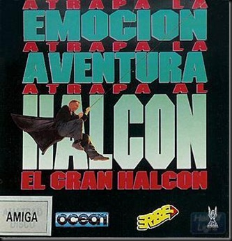 El gran Halcon box amiga version