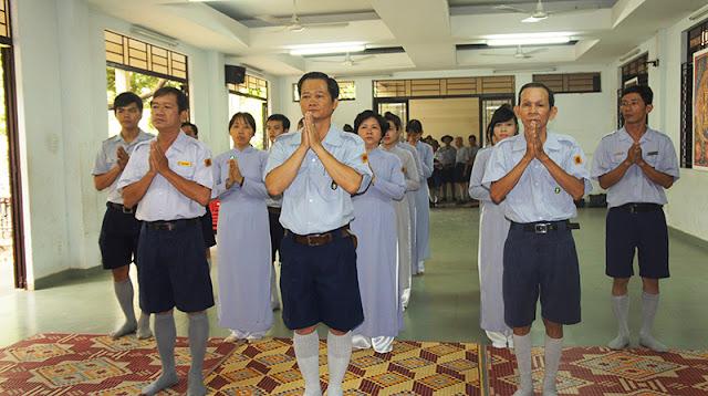 DSC06259 Lễ Hiệp kỵ   Lễ Huý Nhật Cư sĩ Sáng lập viên GĐPT Việt Nam   Tâm Minh Lê Đình Thám