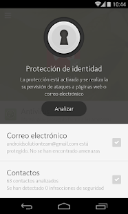 Avira Antivirus Security: miniatura de captura de pantalla