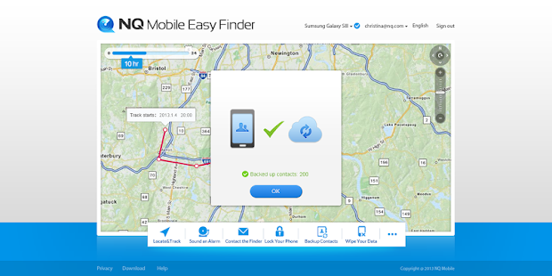 NQ Mobile Easy Finder - screenshot thumbnail