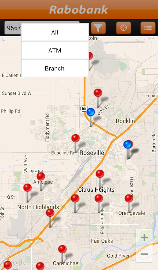 Rabobank Mobile Banking - screenshot