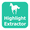 PDF Highlight Extractor icon