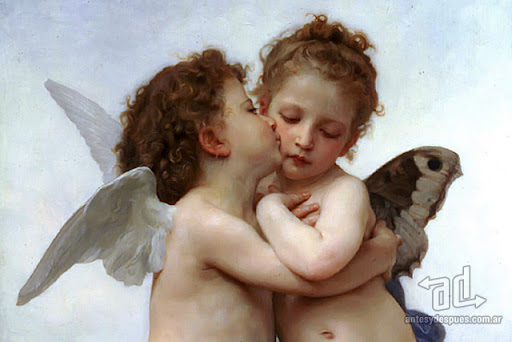 Famous Kisses Cupid And Psyche As Children