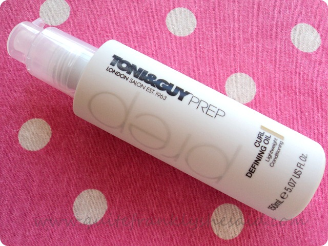 TONI & GUY Prep Curl Defining Oil