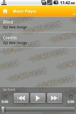 DJE Web Design - screenshot