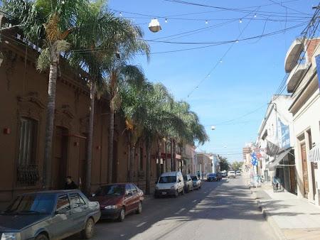 Pe strazile din Argentina