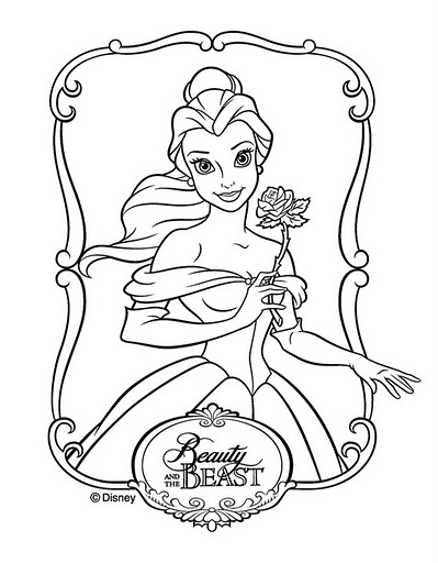 Princesas Disney Dibujos Para Colorear
