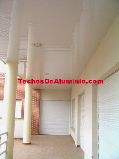 Techos aluminio Mislata