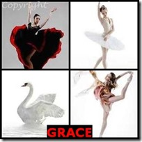 GRACE- 4 Pics 1 Word Answers 3 Letters