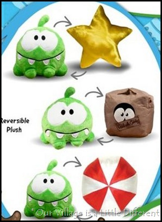 Om Nom Plush Toys