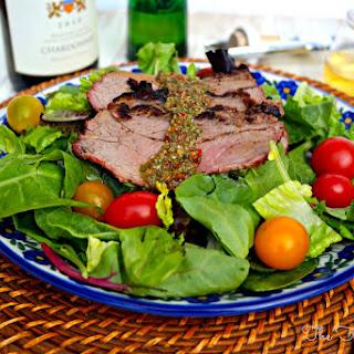 Chimichurri Steak Salad