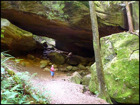 08 - It's a Big Arch, but waterfall was dried up