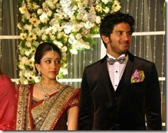 dulquar salman marriage reception1