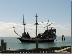 6847 Texas, South Padre Island - Pier 19 - Black Dragon Pirate Ship