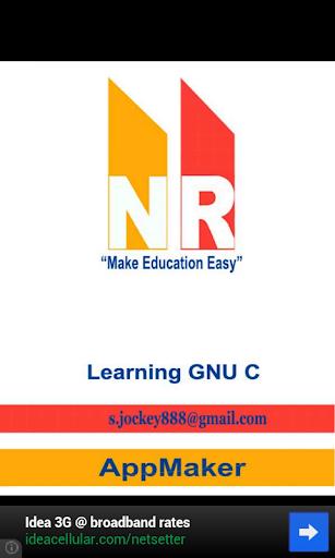 【免費書籍App】Learning GNU C-APP點子