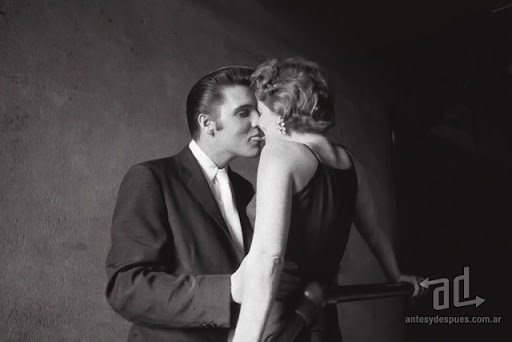 Famous Kisses Elvis Presley