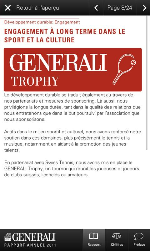 GENERALI 2011 Suisse (Phone) - screenshot