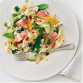 Salmon Sesame Salad