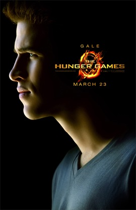 The Hunger Games Liam Hemsworth is Gale Hawthorne