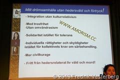 DSC04169.JPG Glöm Aldrig Pela och Fadime GAPF. Mänskliga rättighetsdagarna 2013. Med amorism
