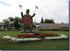 2337 Manitoba Hwy 10 South Boissevain - Tommy the Giant Turtle