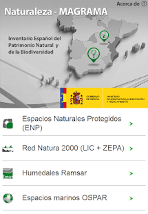 Naturaleza MAGRAMA - screenshot thumbnail